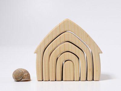 בית מעץ טבעי