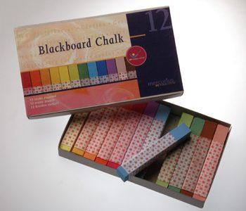 גירי לוח צבעוניים 12 יחידות