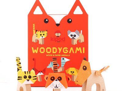 קיפולי נייר WoodyGami