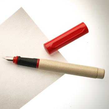 עט נובע אדום