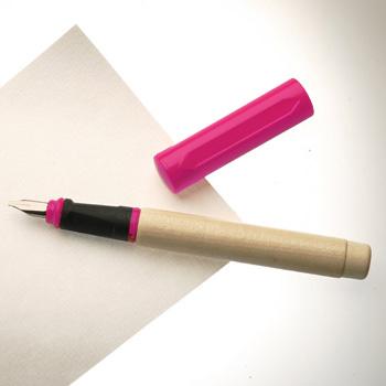 עט נובע ורוד