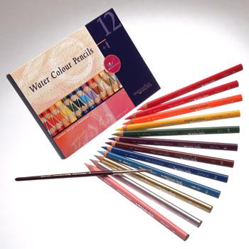 עפרונות אקוורל עבים