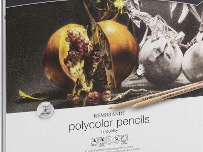 24 עפרונות פוליקולור רמברנט