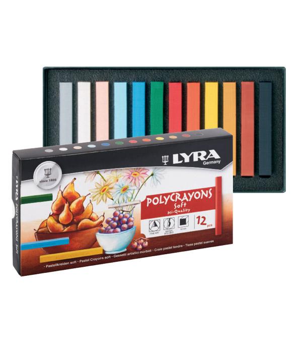 פסטל יבש - 12 צבעים