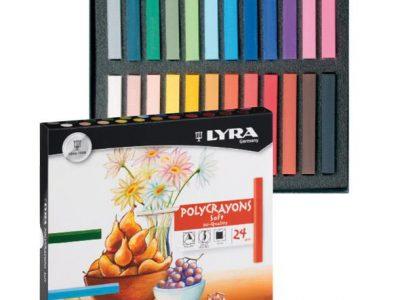 פסטל יבש 24 צבעים