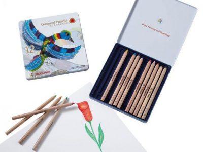 קופסת פח 12 עפרונות