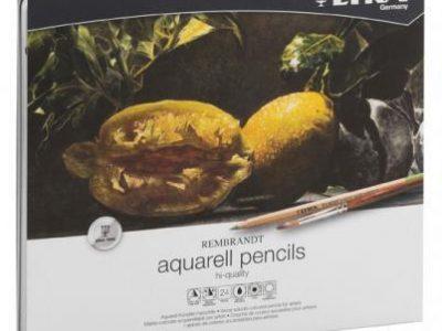 24 עפרונות אקוורל