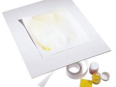 """לוח פלסטיק לציור - 40X55 ס""""מ"""