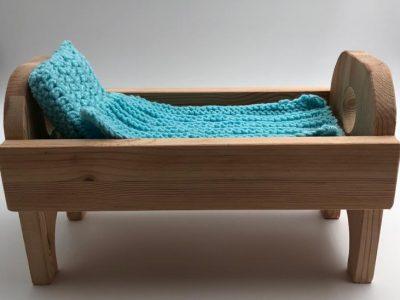 מיטה בינונית לבובה