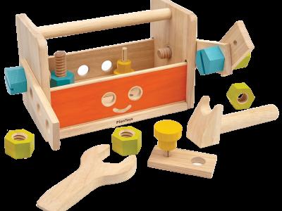 ארגז כלי עבודה בצורת רובוט