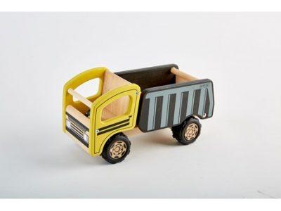 משאית כביש מעץ