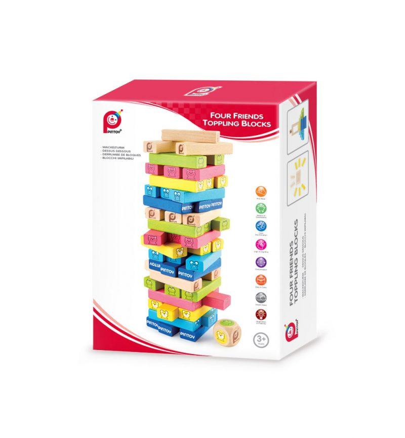 מפולת קוביות- משחק קופסה