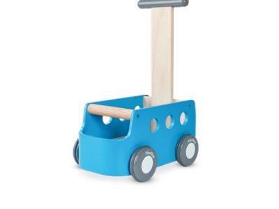 מכונית דחיפה כחולה