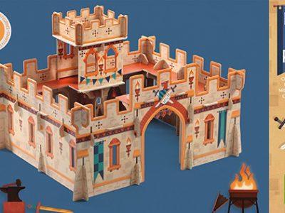 טירת ימי הביניים להרכבה