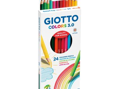 סט 24 עפרונות דקים