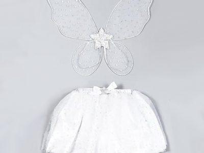 תחפושת כנפיים וחצאית מהודרת