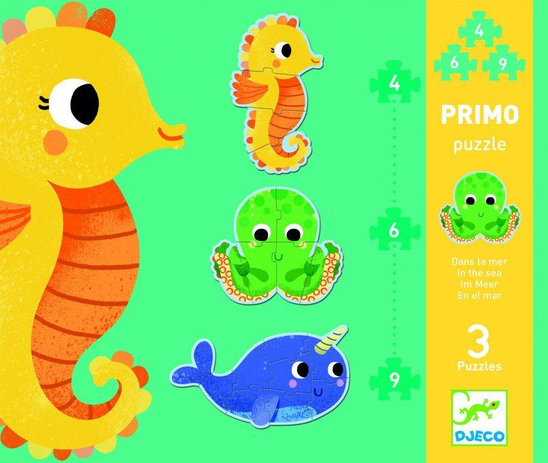 פאזל 4-6-9 - חיות הים
